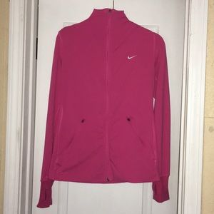 Nike pink dri-fit jacket